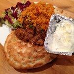 Takeaway Adana Kofte (Lamb). Very nice.