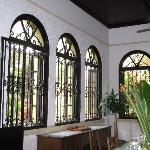 ventanales del comedor