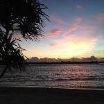 Sunset at Mahamaya