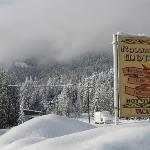 Rossland Motel Winter Wonderland