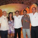 Lo unico sobresaliente del hotel, Nivaldo, Osvaldo y Fernando