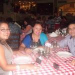 En ll Veneziano con Mayi y Roberto!!!