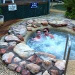 enjoying the spa!!!!