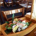$50 Sashimi Boat