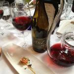 Amuse Bouche Salmon Tartare w/A to Z Pinot Noir...