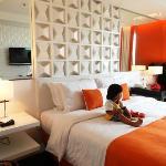 tangerine deluxe room