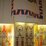 Impressive presentation of the medals & orders of Benes