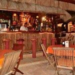 Quaint bar area