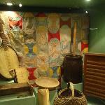 Folk life in the Ozarks display