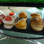 Savories in the Afternoon Tea (not great)