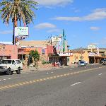 the Mecca is one in a line of authentic 'old west' buildings on Wickenburg Way (hwy 60)