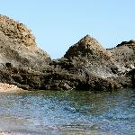 One of the cliff beaches.