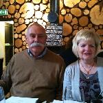 my mum & dad having a lovely time