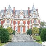 Chateau Impney From The Gardens