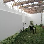 Patio adjacent to Dining room