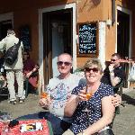 Having a Spritz on Burano