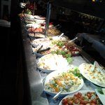 Salad Bar at Cocina & Cia