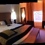 Our room, the place really is great