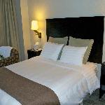 letto queen size, comodo