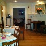 intimate dining areas