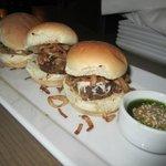 Kobe beef sliders (10.99)