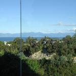 View from Magnolia Suite to the Marlborough Sounds in distance