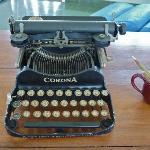 la machine à écrire d'ERNEST HEMINGWAY