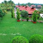 Kerala Cottage Areal View