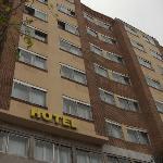 modest hotel in a beautiful city