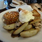 The veggie breakfast