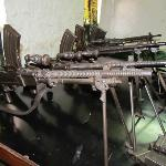 Kumasi Fort - Japanese Model 99 Light Machine Guns Captured From The WW2 Burma Campaign