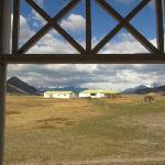Vista desde el living del bungalow