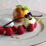 Dessert at Blantyre