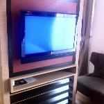 Clear LCD TV for entertainment