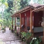 """Die """"Holzhütte"""" in der wir untergebracht waren."""