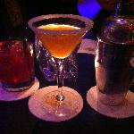 A sidecar and a specialty version of a margarita, both excellent.