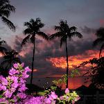 Effectful sunset