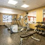 Exercise Room with Precor Equipment available 24 hours