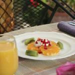 Breakfast Fruit Appetizer