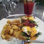 Eggs Benedict at Preservation Kitchen