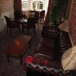Royal Lion Hotel, lounge above bar