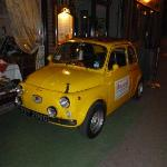 "The Fiat 500 ""Giannini"" that was outside"