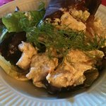 red bliss potato salad with fresh dill