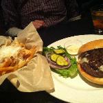 Great burger and truffle fries