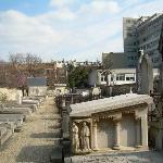 Tombstones at Picpus Cemetery