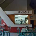 The little Pyramid on Gala cafe
