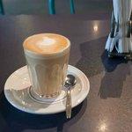 A pyramid latte