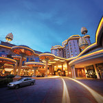 Sunway Resort Hotel & Spa - the hotel's main driveway welcomes guests to the iconic destination.
