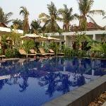 the pool is fantastic! esp when you're traveling in the hot season