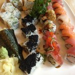 5 Special Rolls and 1 Hand Roll